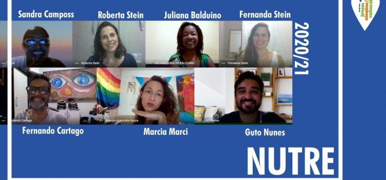NUTRE: Programa Jovem Monitor/a Cultural cria espaço para jovens monitores/as trocarem experiências sobre suas formações